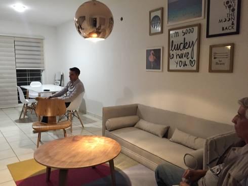 Casa Gallo de la Torre , Guadalajara : Comedores de estilo moderno por DECO designers
