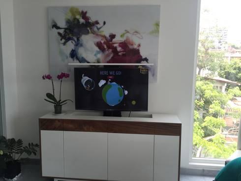 D'Terrace 805 Unit : Salas de estilo minimalista por DECO designers