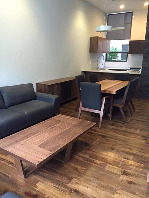 Diseño de interiores, elaboración mobiliario: Hogar de estilo  por L&G Arquitectos