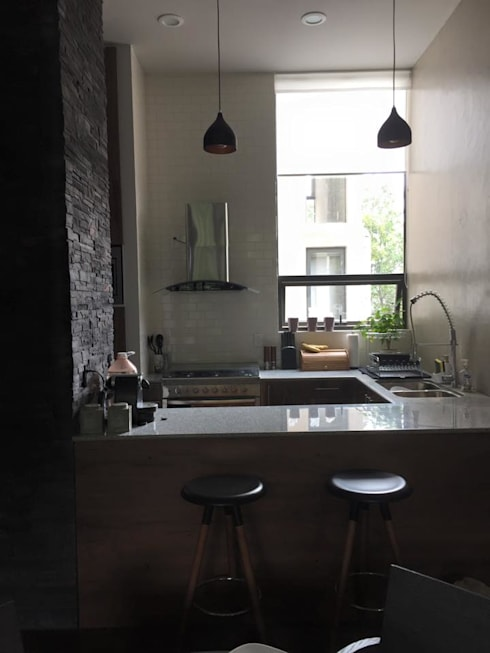 Imagen General Cocina: Cocinas de estilo  por L&G Arquitectos