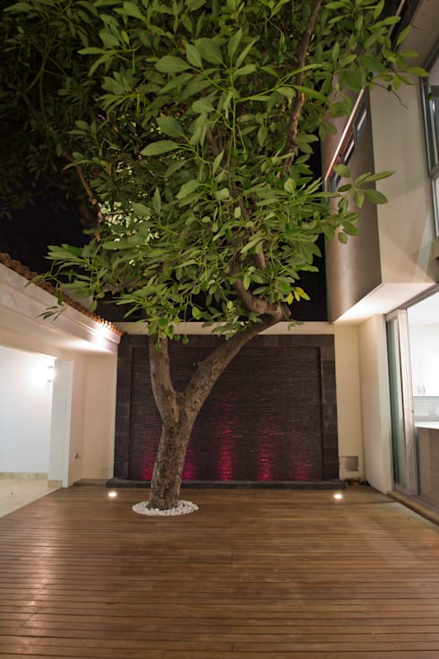 Casa CSG: Terrazas de estilo  por IX2 arquitectura
