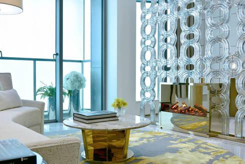 CAPRI: modern Living room by FAK3