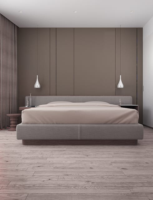 minimalistic Bedroom by VITTA-GROUP