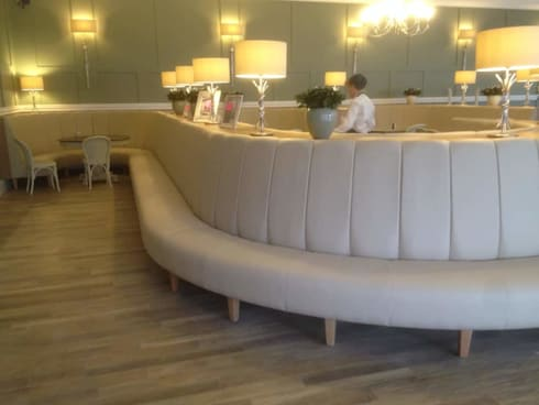 Curved Banquette Bench Seating: Commercial Spaces By Atlas Contract  Furniture