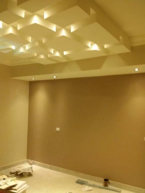 Mr. Mohamed Appartment:  غرفة نوم تنفيذ Etihad Constructio & Decor