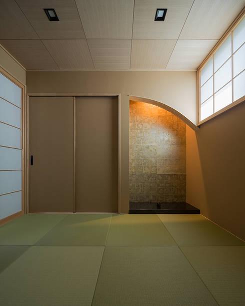 書房/辦公室 by 株式会社 SYN空間計画 一級建築事務所