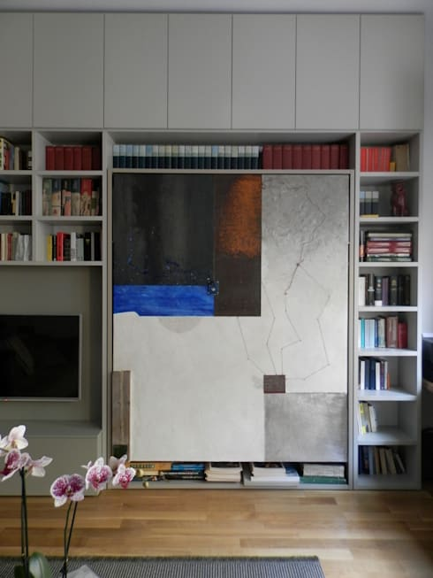 Pannello decorativo pezzo unico: Soggiorno in stile in stile Eclettico di Dima snc di Maiocchi Dario e c.