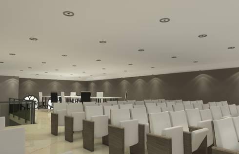 Netive Ezra: Estudios y oficinas de estilo moderno por Arq. Jacobo Smeke