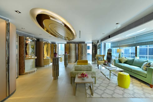 Miele Private Lounge Hong Kong: classic Living room by FAK3