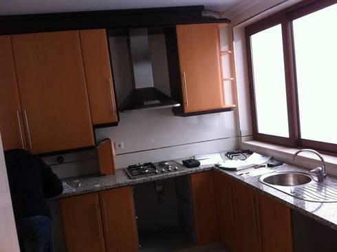 Cozinha antiga em melamina:   por Ansidecor