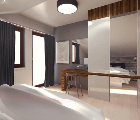 Cosy bedroom: styl , w kategorii  zaprojektowany przez Arch/tecture