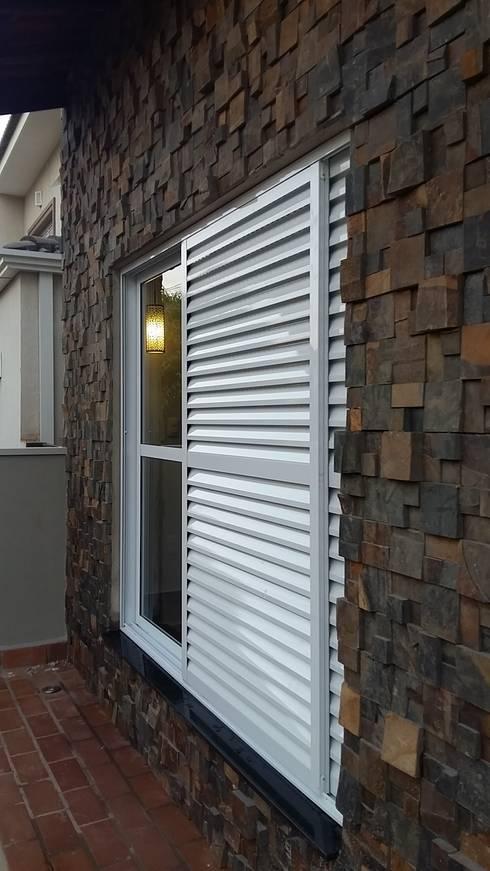 Casas de estilo rústico por Arquiteto Lucas Lincoln