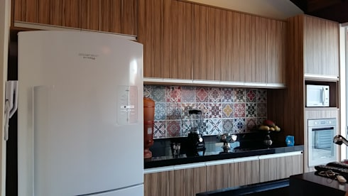 Cocinas de estilo rústico por Arquiteto Lucas Lincoln
