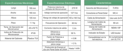 ESPECIFICACIONES, CARACTERÍSTICAS MECÁNICAS Y ELECTRICAS: Casas de estilo moderno por ENFOQUE CONSTRUCTIVO