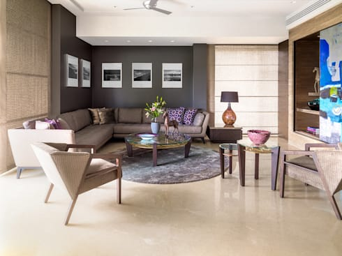 Fabien Charuau - Architectural and Interiors Photography - Recent Projects: modern Living room by Fabien Charuau Photography