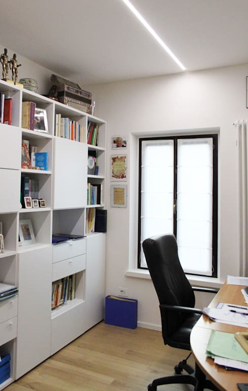 modern Study/office by SuMisura
