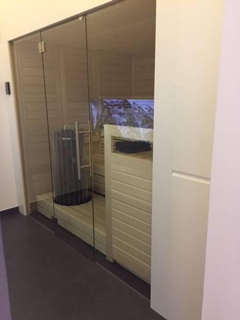sauna infrarotkabine von b cube gmbh homify. Black Bedroom Furniture Sets. Home Design Ideas