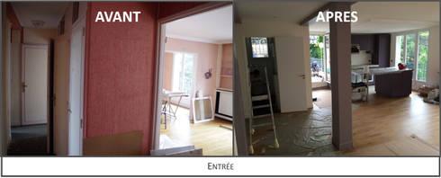 Rénovation appartement par Kutch Architecture Intérieur | homify