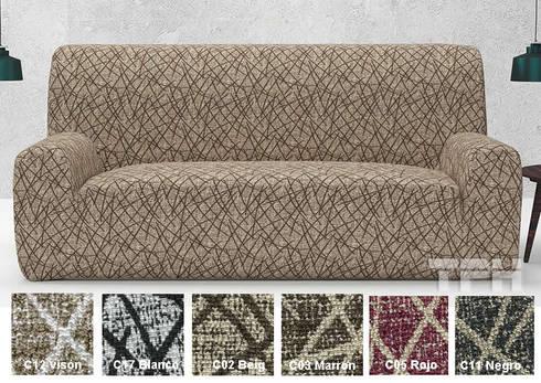 Fundas para sillones de tph fundas de sof homify for Fundas para muebles de sala modernos