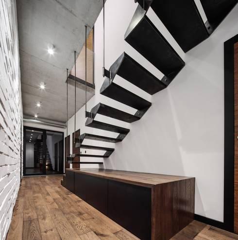 Corridor & hallway by BECZAK / BECZAK / ARCHITEKCI