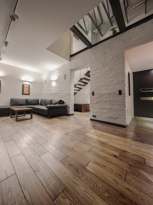 Living room by BECZAK / BECZAK / ARCHITEKCI