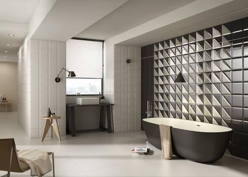 Badkamer Wandtegels Ideeen : Stijlvolle ideeën met tegels voor de gehele woning von sani bouw