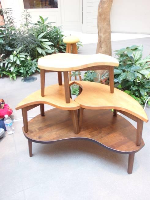 パズルテーブル: 二輪草家具が手掛けたです。