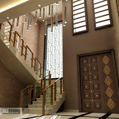 Corridor & hallway by THE Studio
