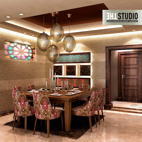 eclectic Dining room by THE Studio