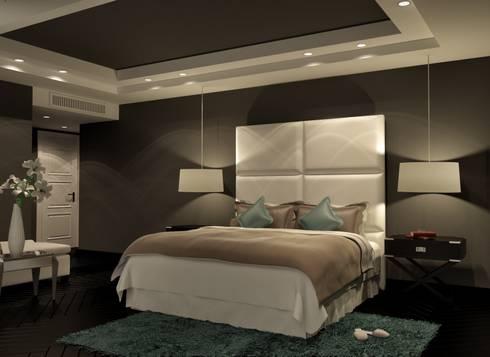 minimalistic Bedroom by THE Studio