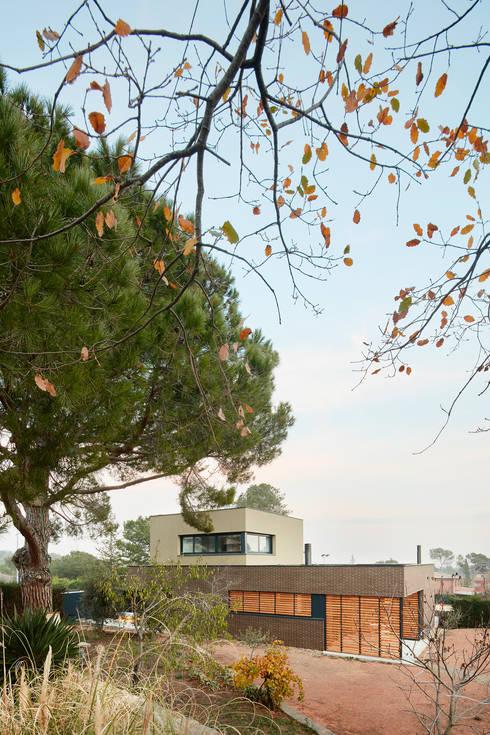 54cod obra nueva de casa aislada adosada en matadepera di for Planimetrie delle case in stile cape cod