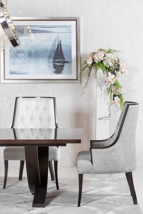 Sala de jantar  por Green Apple Home Style
