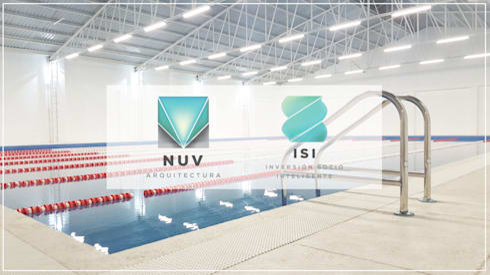 Alberca Semi-olímpica: Escuelas de estilo  por NUV Arquitectura