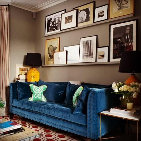 Lake View Villa: mediterranean Living room by Architecto