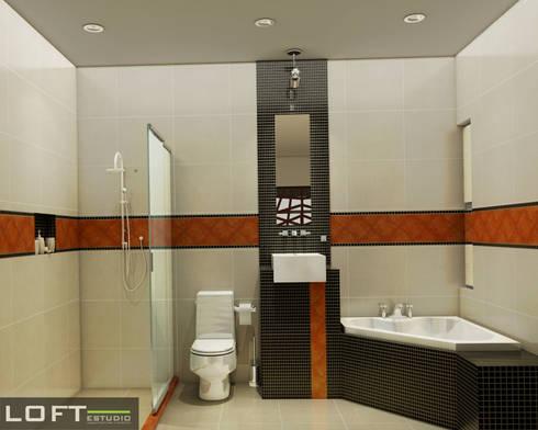 Baño: Baños de estilo  por LOFT ESTUDIO arquitectura y diseño