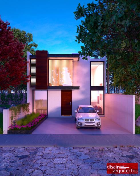 Casa MRB: Casas de estilo moderno por disain arquitectos