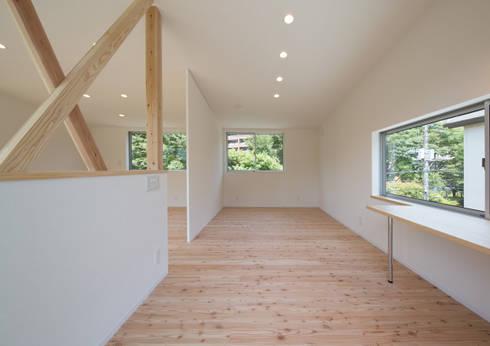 子供室 スタディコーナー: アトリエ24一級建築士事務所が手掛けた子供部屋です。