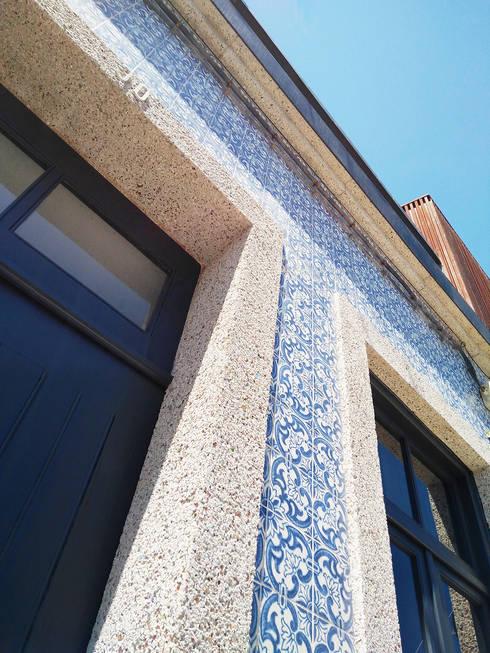 Casa dos Mercantéis: Casas minimalistas por GRAU.ZERO Arquitectura