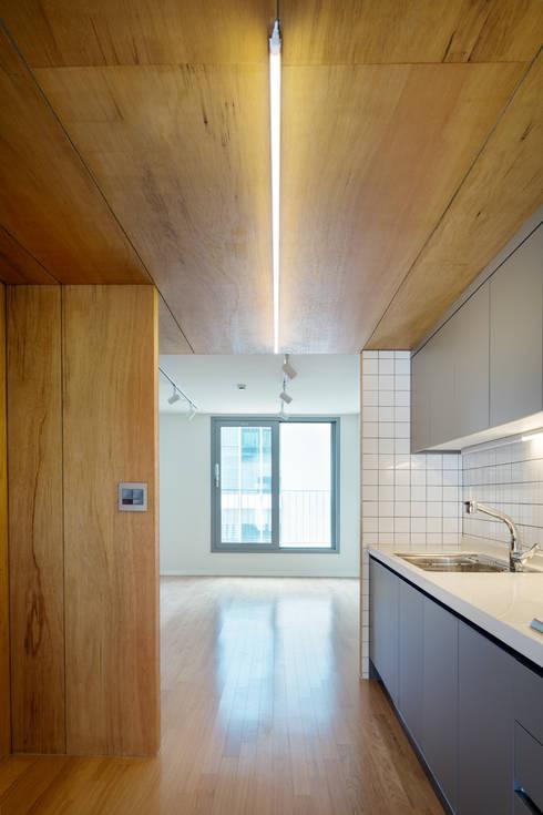 Nhà bếp by 서가 건축사사무소