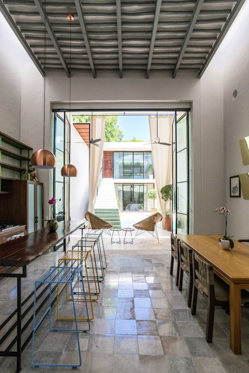 餐廳 by Taller Estilo Arquitectura