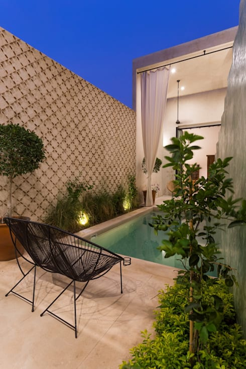 泳池 by Taller Estilo Arquitectura