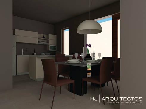 RESIDENCIA HUAMUCHES:  de estilo  por HJ ARQUITECTOS