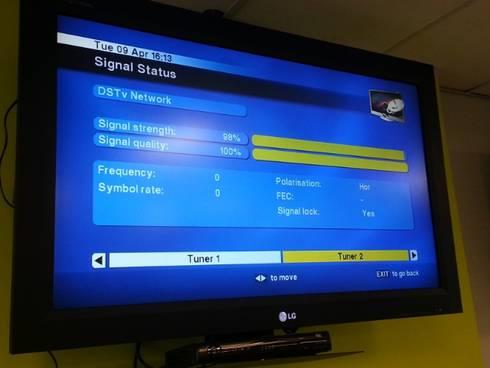 Configuration:   by DSTV Installation Pretoria