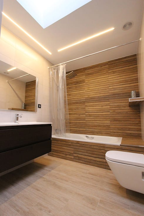 modern Bathroom by Novodeco