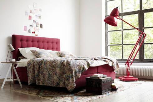 ab in die kiste wir lieben boxspringbetten von schlaraffia homify. Black Bedroom Furniture Sets. Home Design Ideas