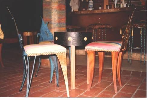 Bar porto FINO -Albufeira:   por Atelier  Ana Leonor Rocha