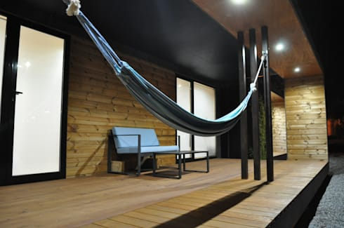 Ooty XP2: Casas minimalistas por Black Oak Company, Lda | Ooty