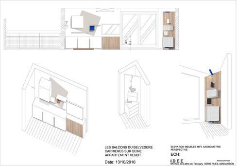 Cool Dessins En Lvation Axonomtrie Perspective Salon De Style De Style  Moderne Par With Dessin En Perspective Salon