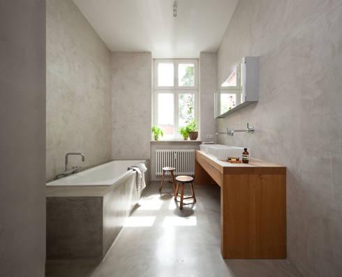 badezimmer potsdam by britta weißer innenarchitektur | homify, Innenarchitektur ideen