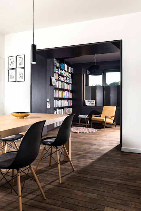 Рабочие кабинеты в . Автор – studio k interieur en landschapsarchitecten